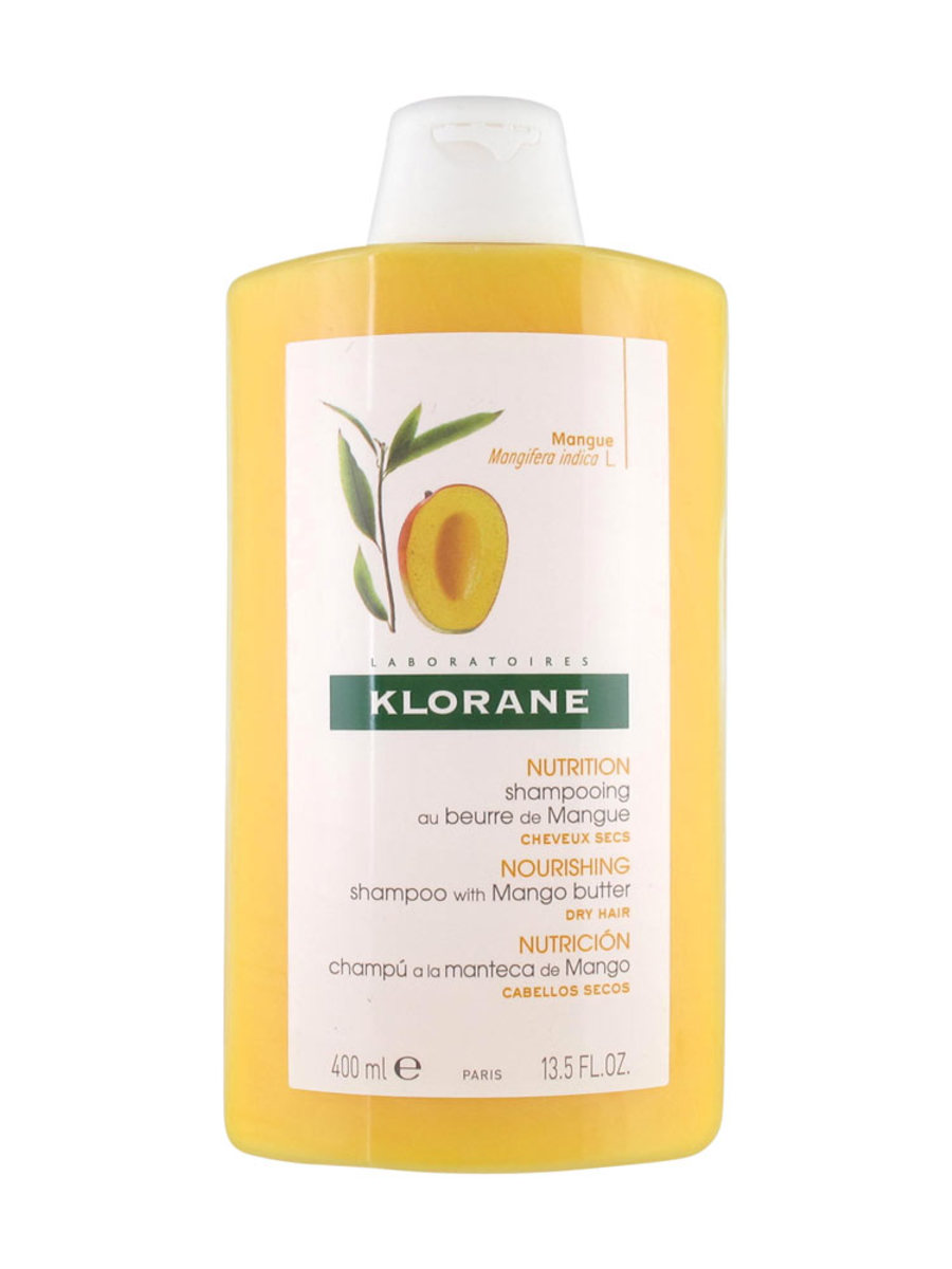 KLORANE Nourishing Shampoo with Mango Butter 蔻蘿蘭 (康如) 芒果滋潤修護洗髮水 400ml 芒果(3282770106404)