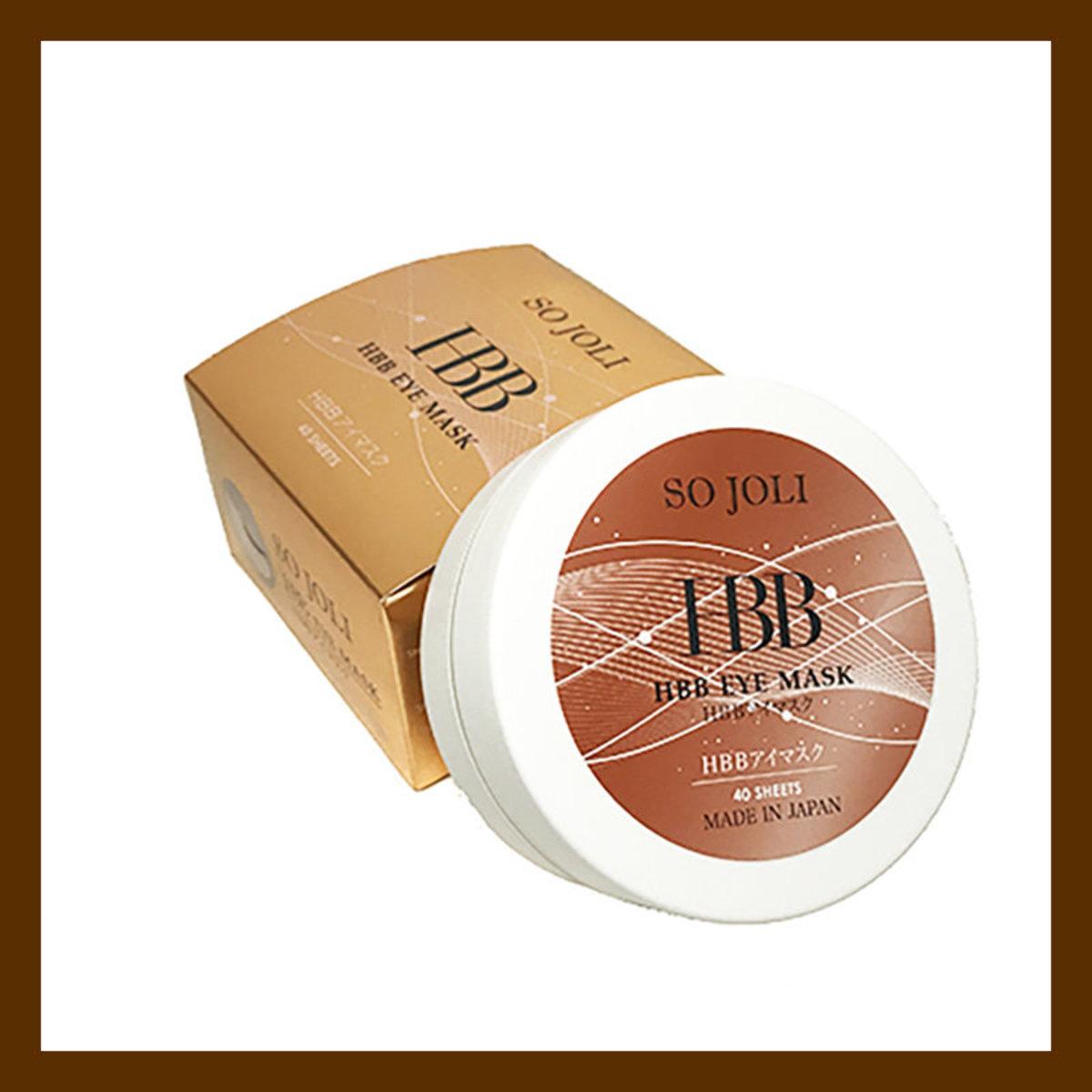 日本 SO JOLI HBB Eye Mask 初生臍帶血眼膜 (1盒40片)(4562153220996)