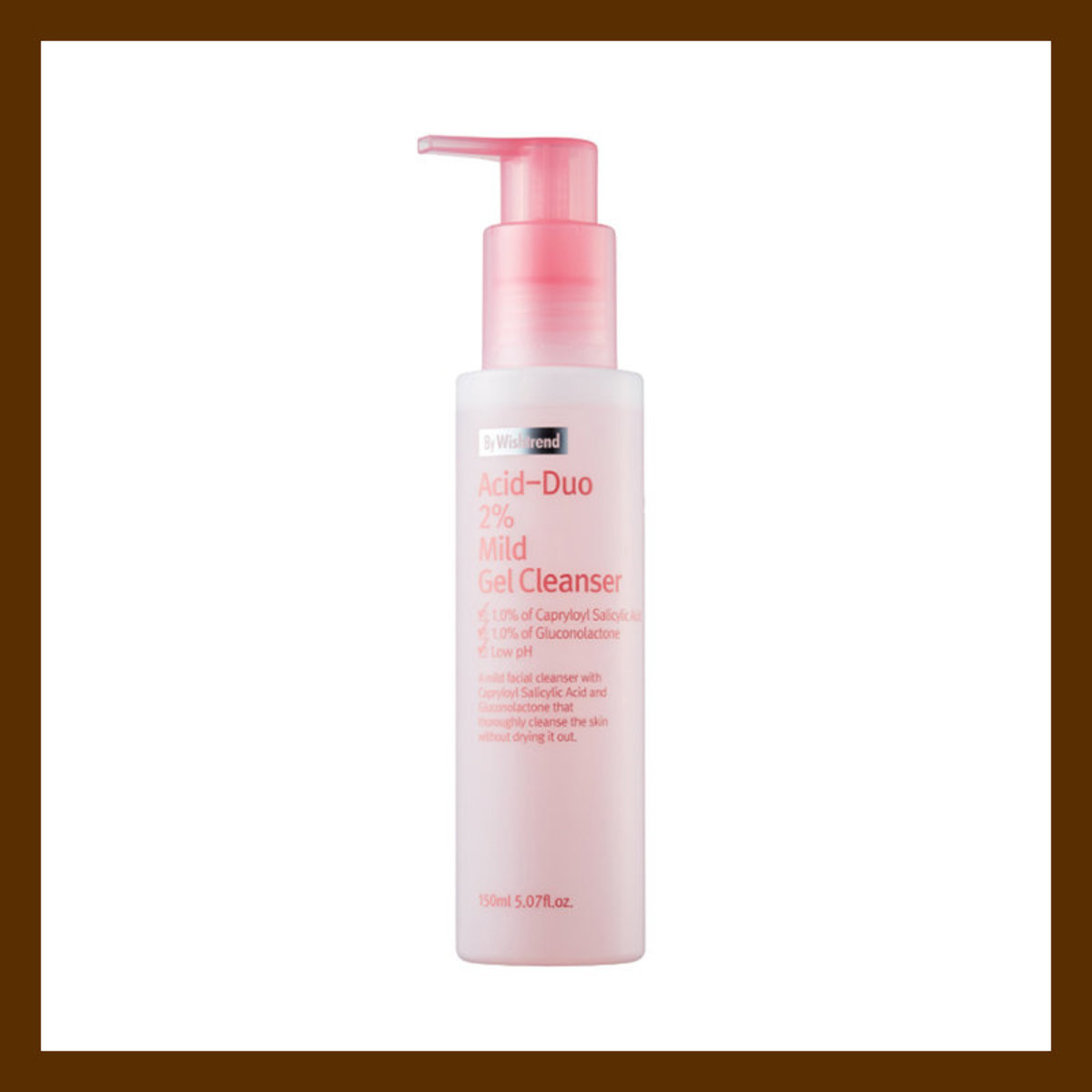 BY WISHTREND Acid-duo 2% Mild Gel Cleanser 2%弱果酸潔面液 150ml