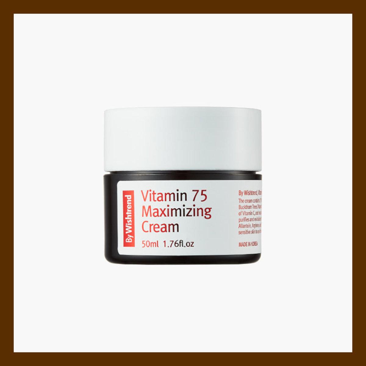 BY WISHTREND Vitamin75 Maximizing Cream 維他命亮肌面霜 50ml