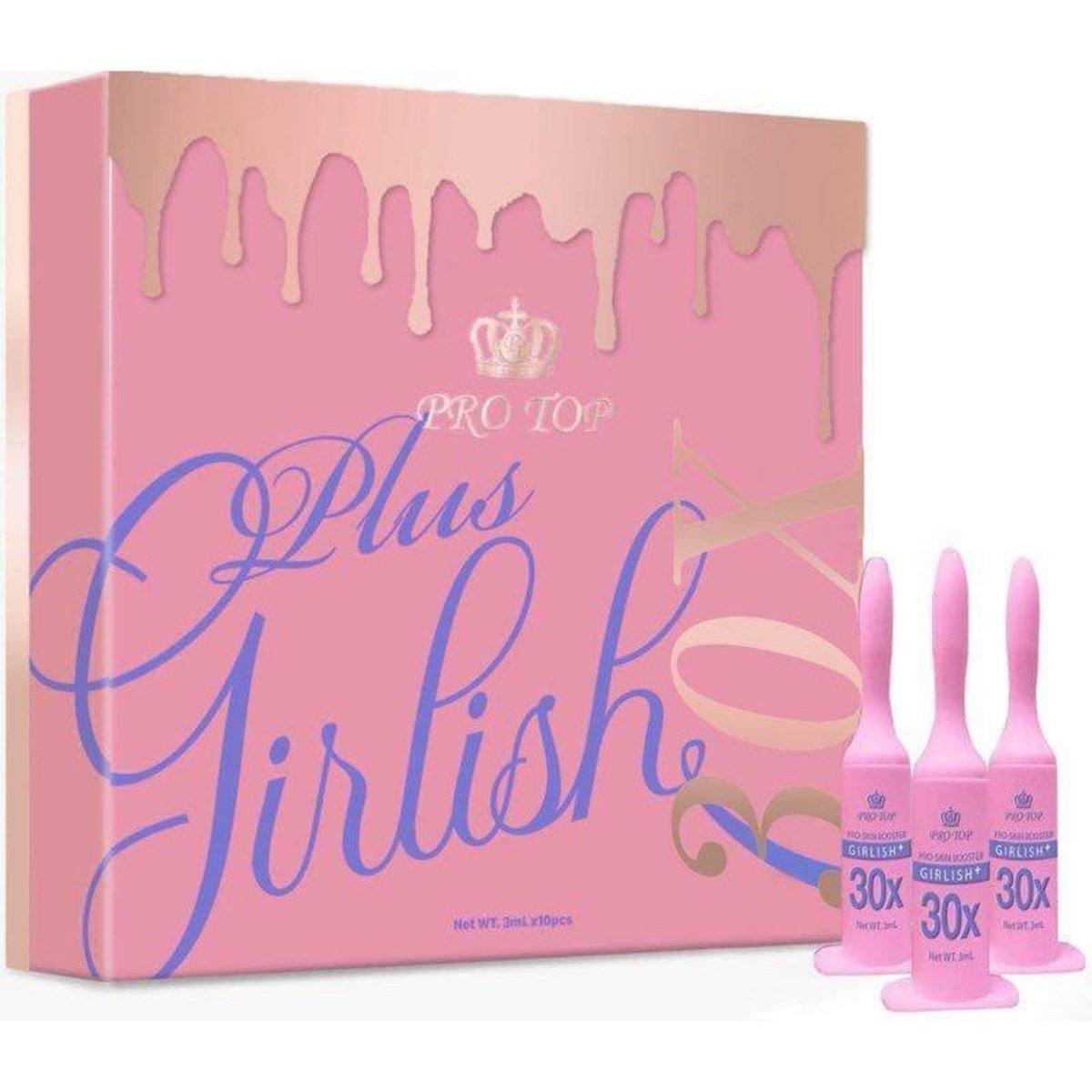 PROTOP Pro Skin Booster GIRLISH Plus 30 x 收毛孔納米新版少女針  (10支 x 3ml)粉盒