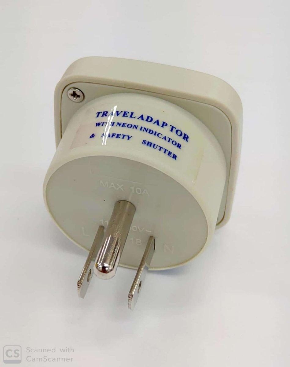 旅行轉插器 (U.S. / CANADA / JAPAN / TAIWAN) (ST-5)