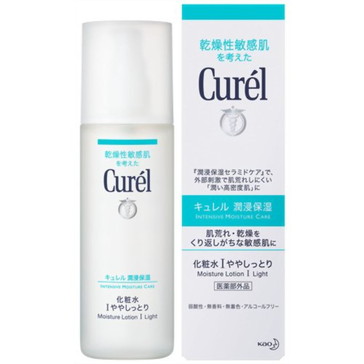 日本 KAO Curel Moisture Lotion I - Light  花王 珂潤 乾燥性敏感肌化妝水 I - 清爽型 150ml(4901301236043)