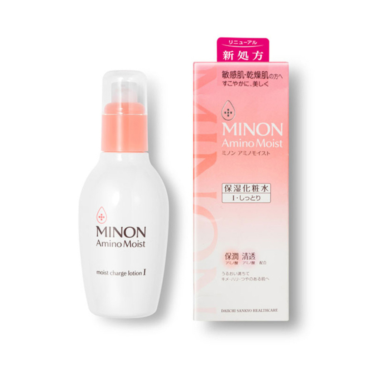 MINON Amino Moist moist charge Lotion I (Light) 氨基酸保濕化妝水 I (清爽) 150ml
