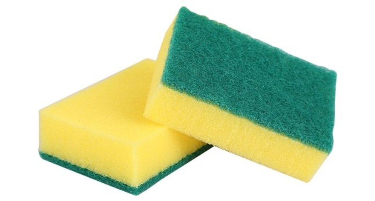 海綿擦 高密度洗碗海綿 11*7*3CM二片
