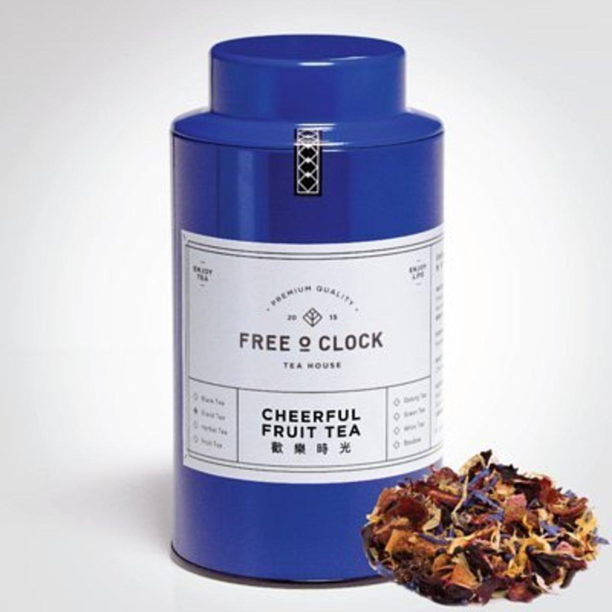 Cheerful Fruit Tea - 100g - blue can