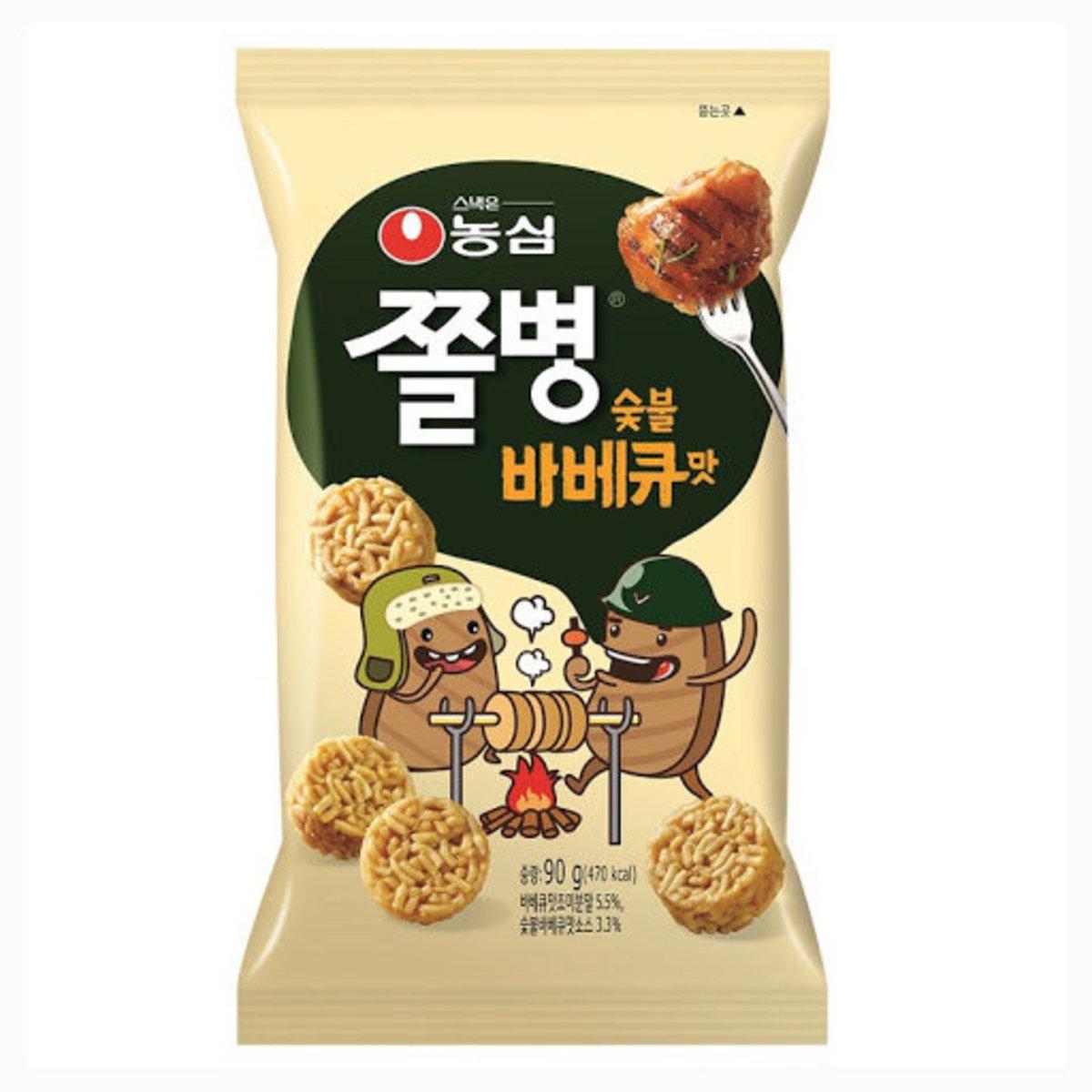 韓國零食BBQ 味小麵餅 90g