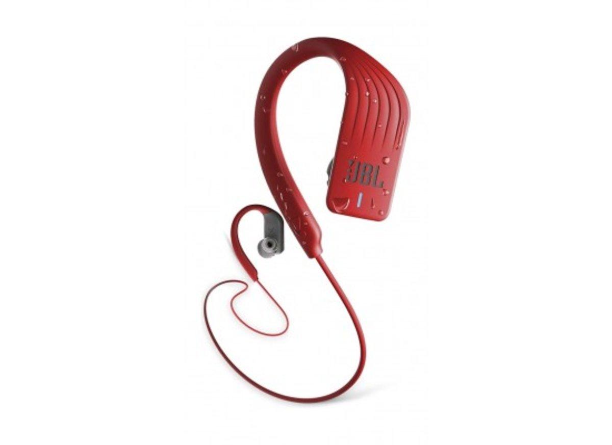 Endurance Sprint Waterproof Wireless In-Ear Sport Headphones / Red (Hong Kong licensed Product)