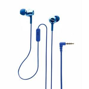 SONY 入耳式立體耳機 MDR-EX255AP(藍色) / 平行進口