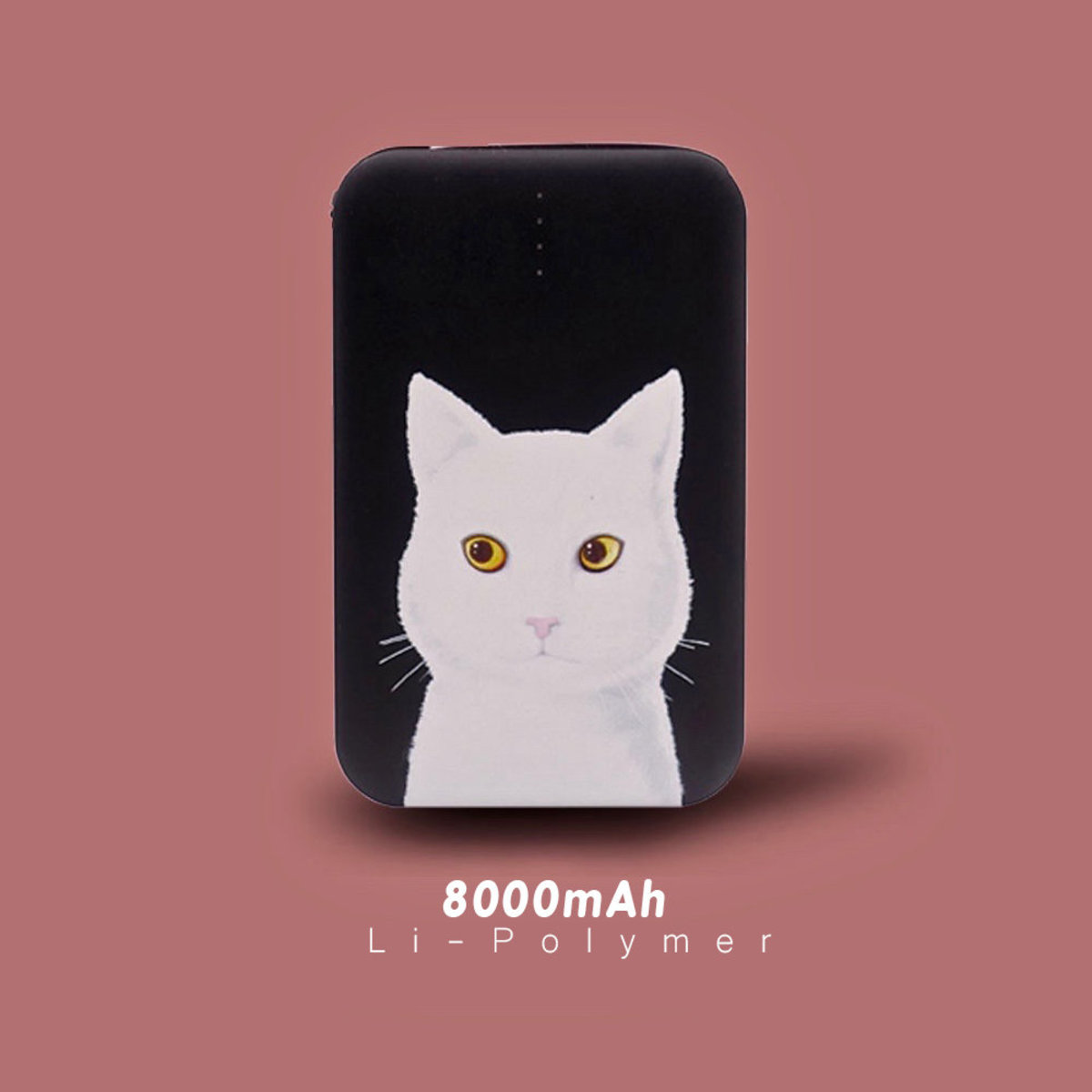 Flying Mouse 365.白貓. 不是你 .8000mAh  快速.輕便.安全.行動電源