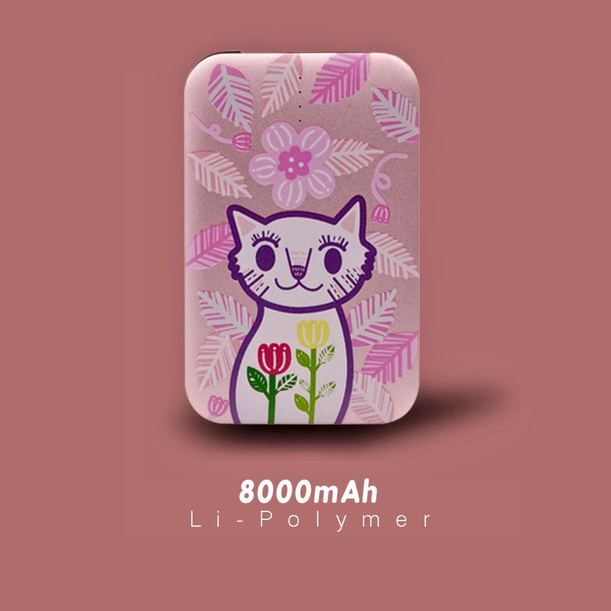 純潔的貓 / 8000mAh 行動電源