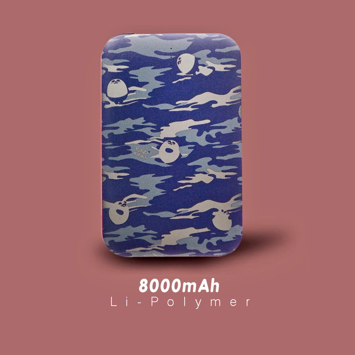 Pandahaluha . Camouflage panda / 8000mAh Power Bank