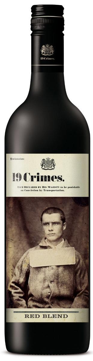 19 Crimes Red Blend 2016