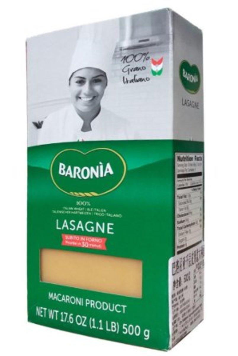 意大利Lasagne Gialle蛋黃千層麵 500g