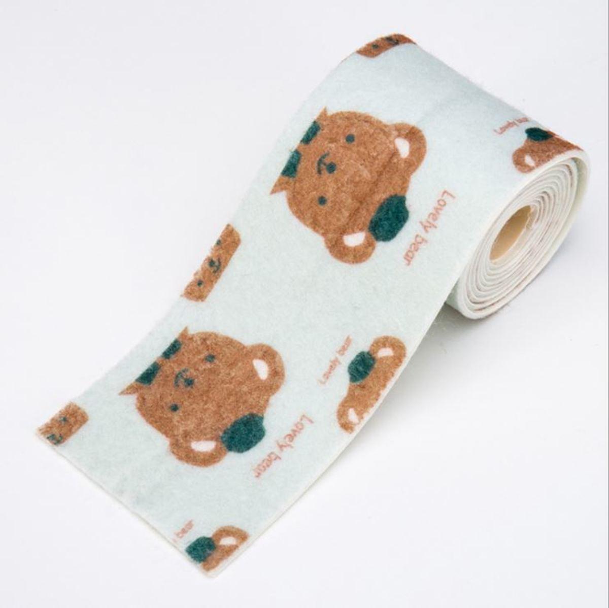 防水吸濕靜電貼(熊)