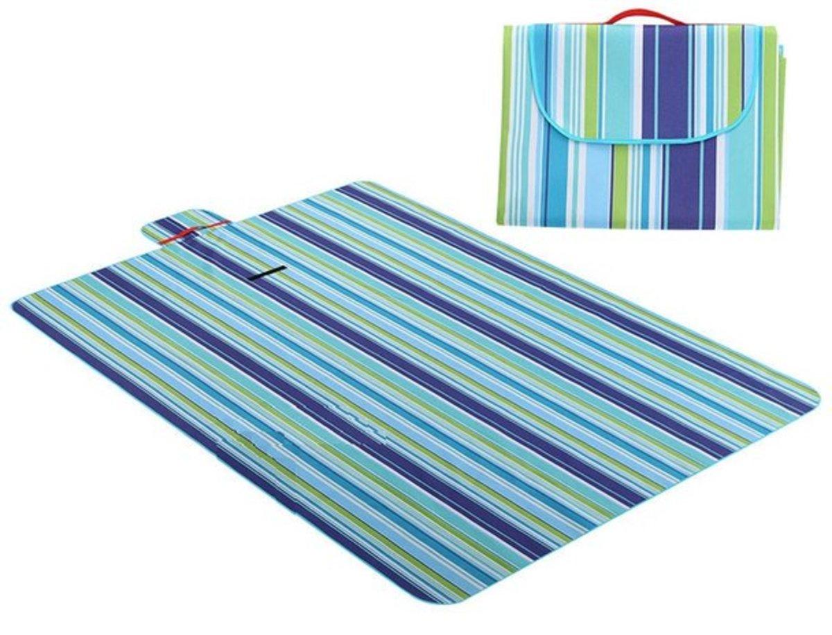 手提野餐墊(淺藍)