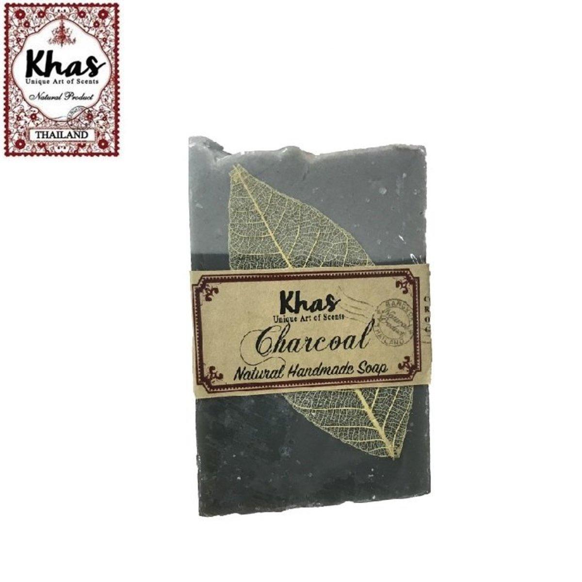 Khas手工肥皂(竹炭)
