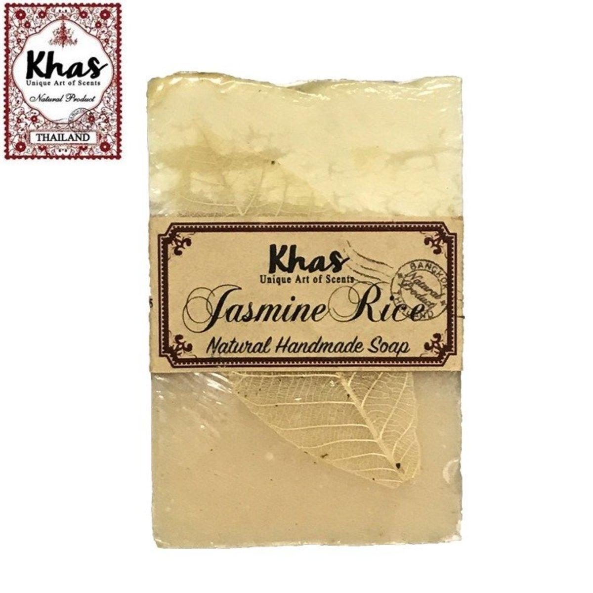 Khas handmade soap (jasmine and rice)
