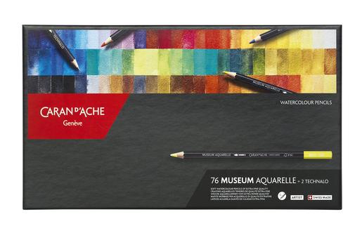 Museum 76色博物館級水彩芯木顏色