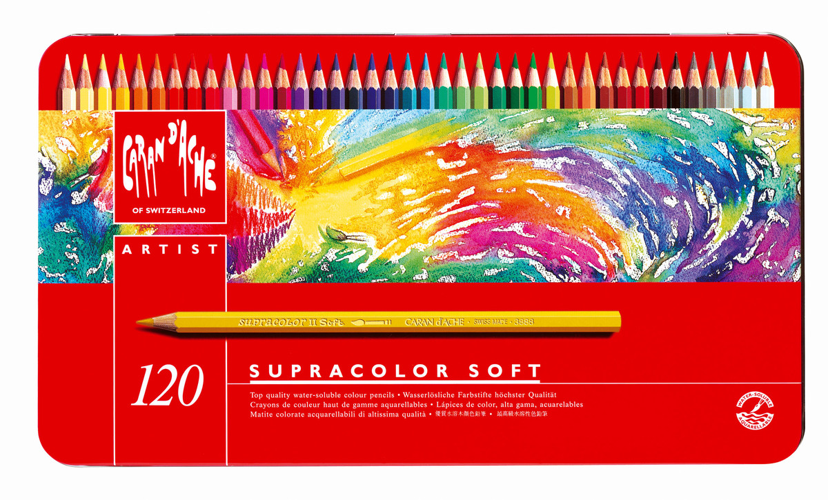 Supracolor 120色專業級水溶性木顏色