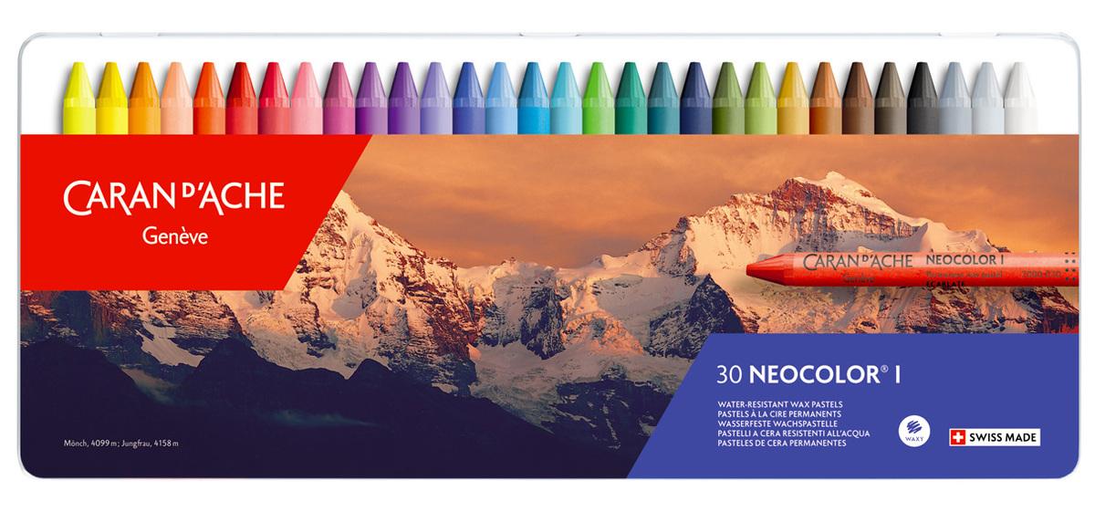 Neocolor I 30色油性蠟筆