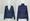 V領扣鈕針織外套+樽領針織衫套裝