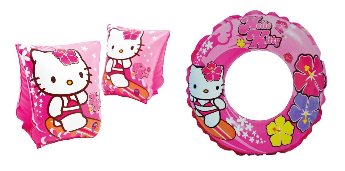吉蒂貓游泳套裝2 (水袖+水泡) 獨立包裝