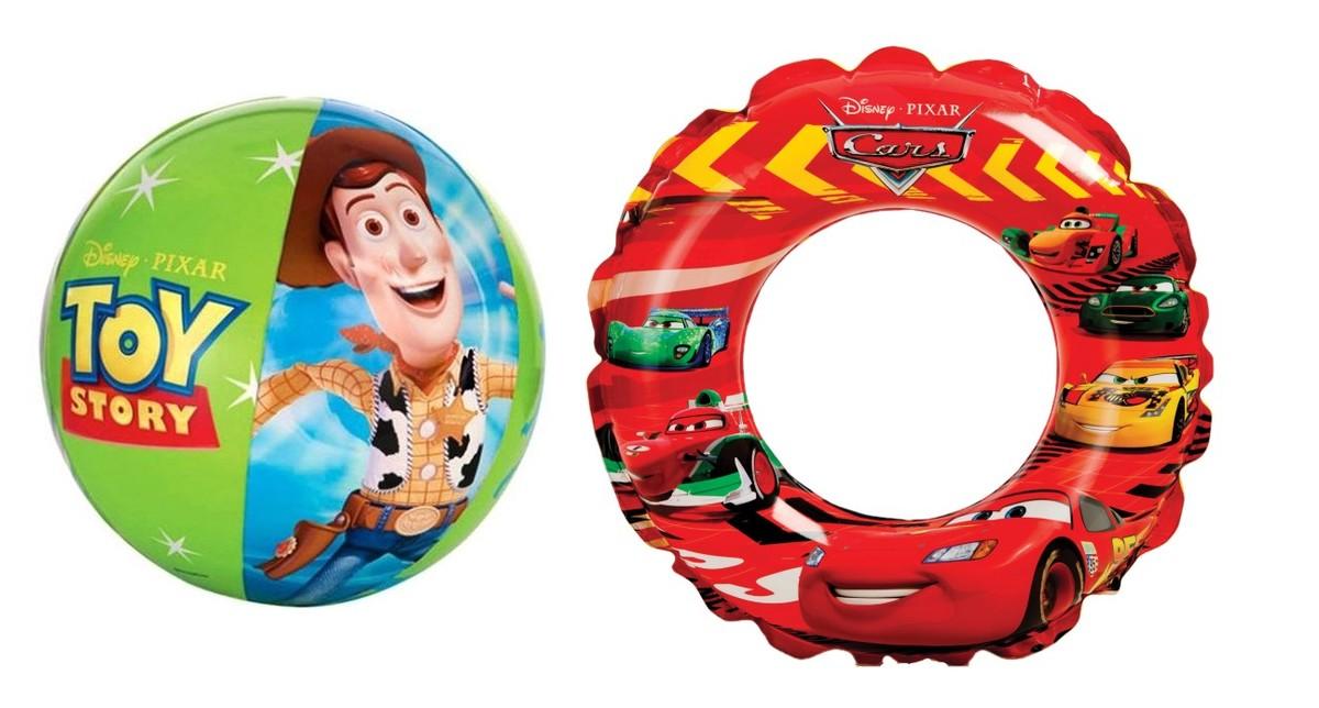 迪士尼混合套裝4 (反斗奇兵沙灘球+反斗車王水泡) 獨立包裝