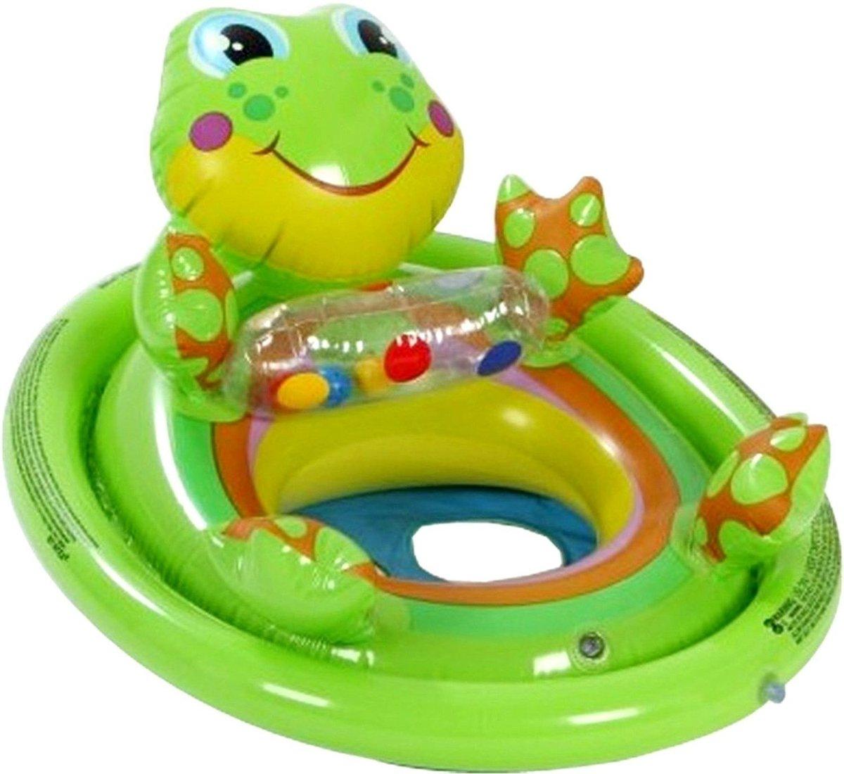 """兒童青蛙充氣船仔 30.5"""" x23"""" (77cm x 58cm)"""