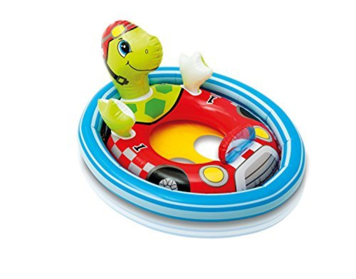 "Kids Turtle Pool Rider 30.5"" x23"" (77cm x 58cm)"