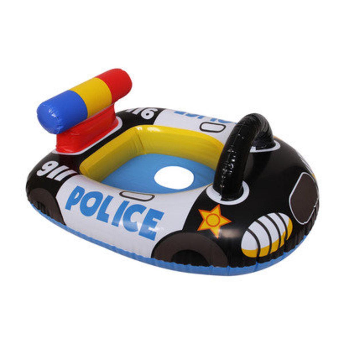 "Kids Police Car Pool Rider 32""x28.5"" (81cm x 72cm)"