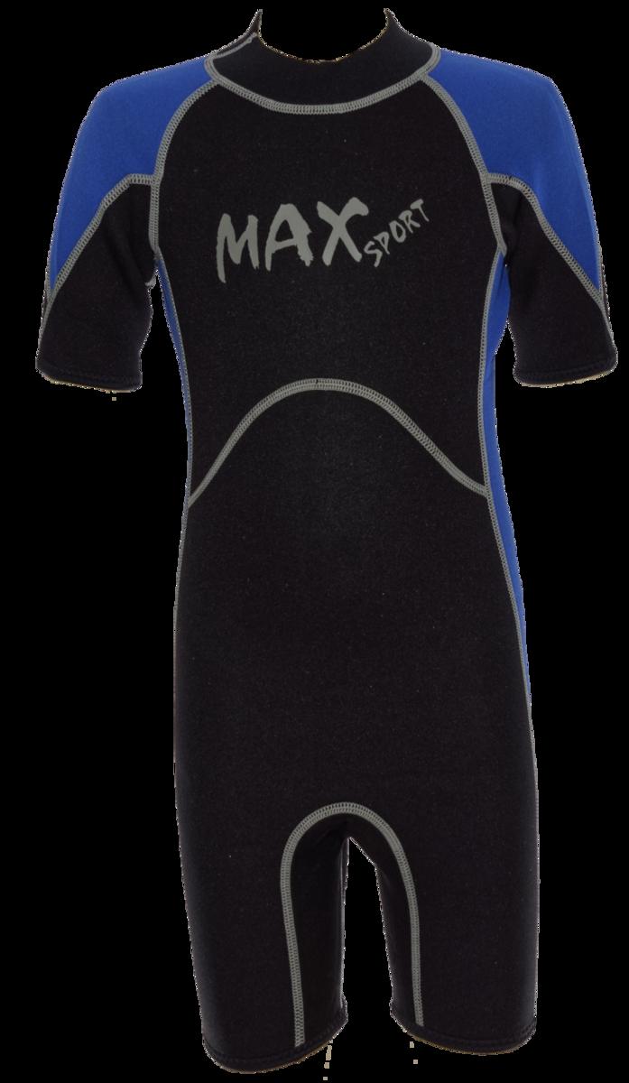 Kid's 2.5mm Thermal Suit, Colour: Black / Blue, Size: 10