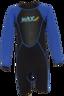 Kid's 2.5mm Neoprene Suit, Colour: Black / Blue, Size: 10