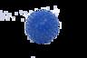 9cm Massage Ball, 2 pieces per set, Colour: Dark Blue