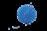 9cm 淺藍色圓形按摩球 (一套兩個)