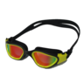 [MS-7200MR]High Quality Silicone UV Protection Anti-Fog Yellow Reflective Swimming Goggles