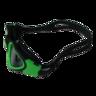 [MS-7200]高級矽膠 防霧 防UV 綠色泳鏡