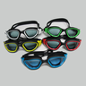 [MS-7200]High Quality Silicone UV Protection Anti-Fog Green Swimming Goggles