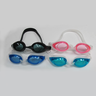 [MS-7600]High Quality Silicone UV Protection Anti-Fog Black Swimming Goggles