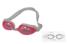 [MS-7600]High Quality Silicone UV Protection Anti-Fog Pink Swimming Goggles