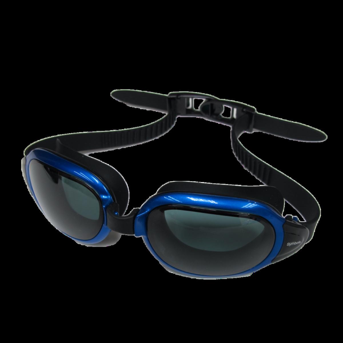[MS-8600]高級矽膠 藍色 泳鏡