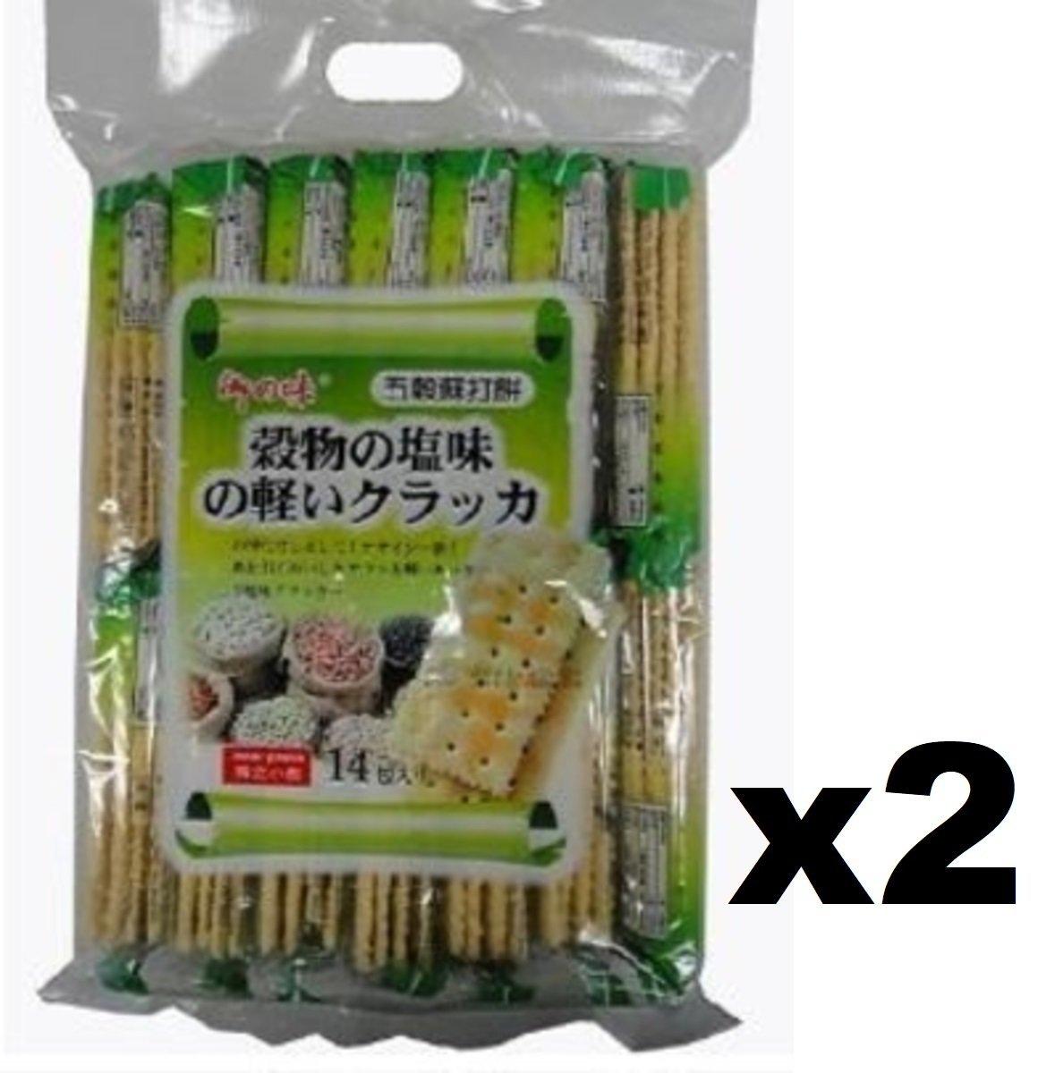 AJI374 五穀梳打餅 360g x (2袋裝)