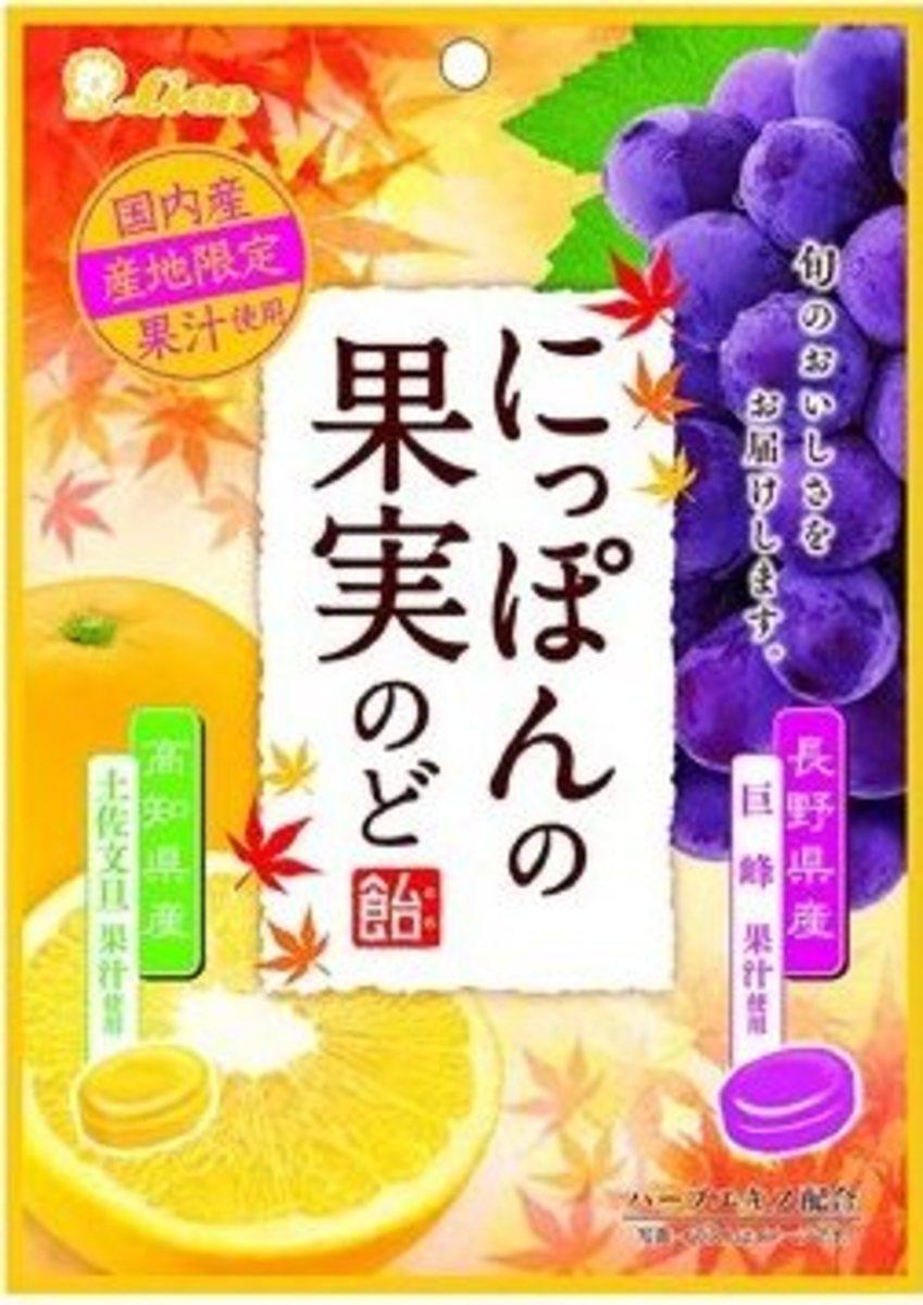 土佐文旦長野巨峰果汁糖 72g