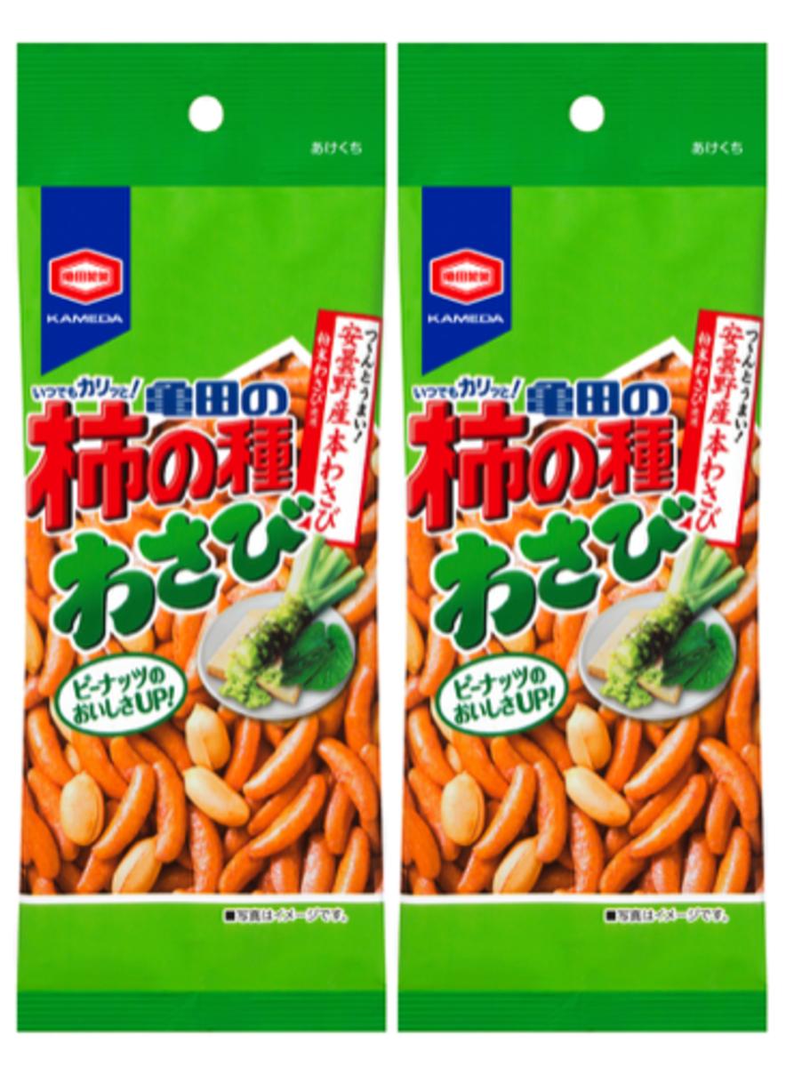 花生芥末米菓小食 68g(2包裝)