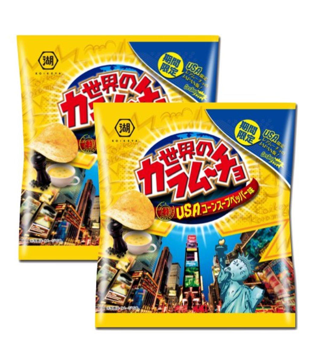 Koikeya   World Karamucho Corn Soup 55g (2包裝)   HKTVmall