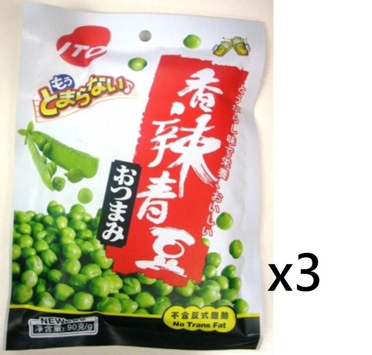 ITO 香辣青豆 90g (3包裝)