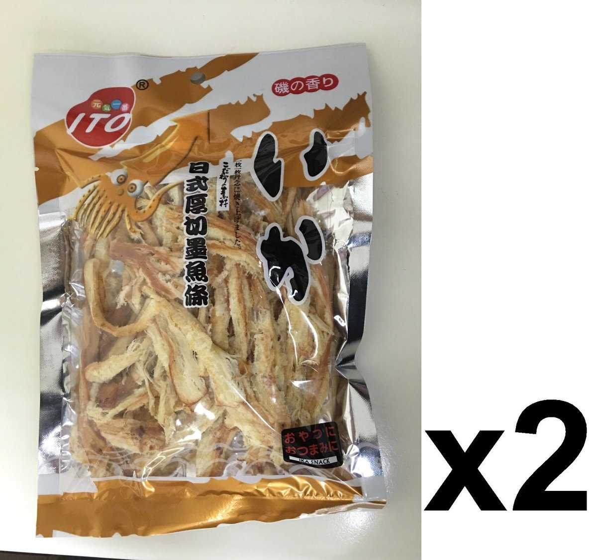 ITO0147 金裝日式厚切墨魚條 65g x(2pcs)