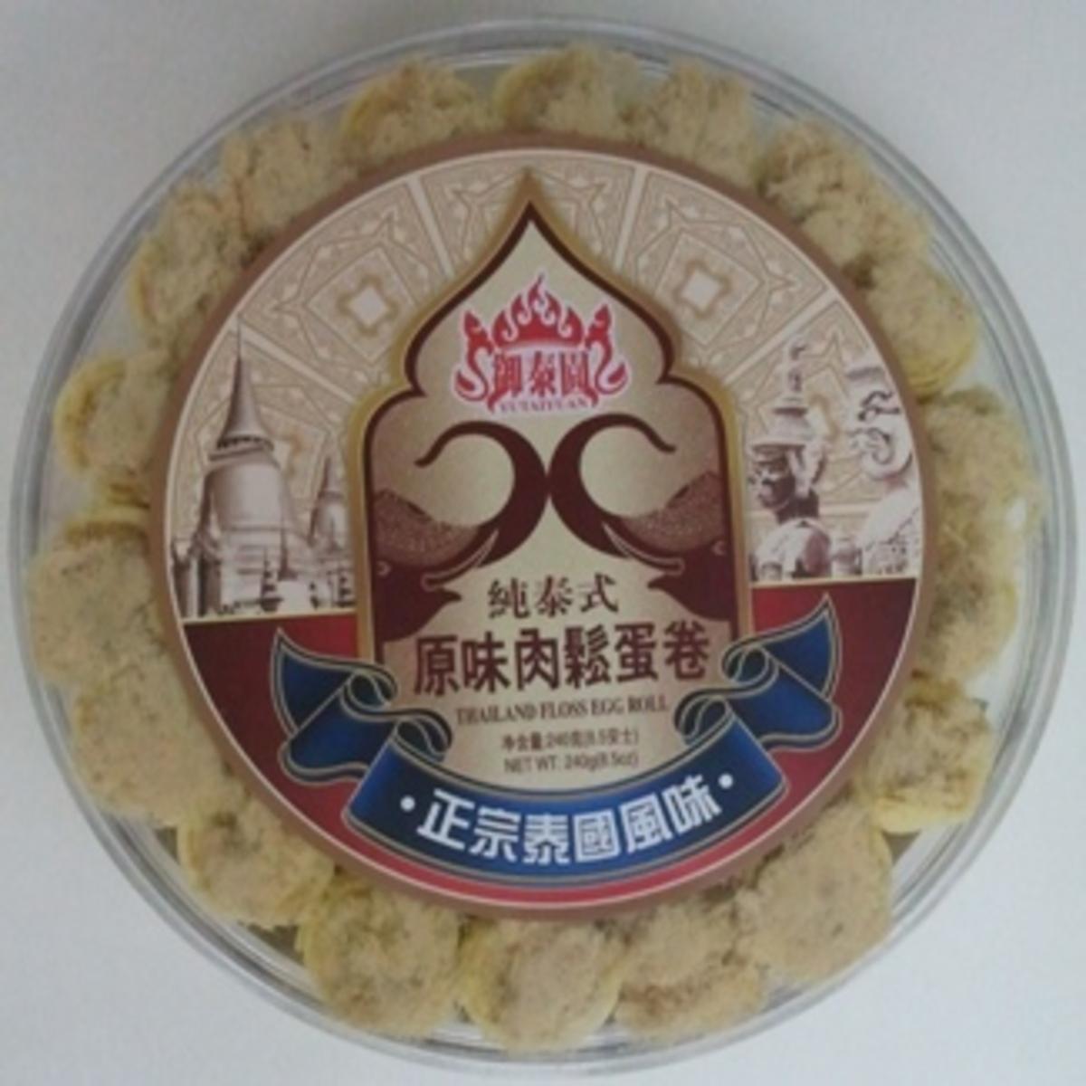 純泰式原味肉鬆蛋卷 240g