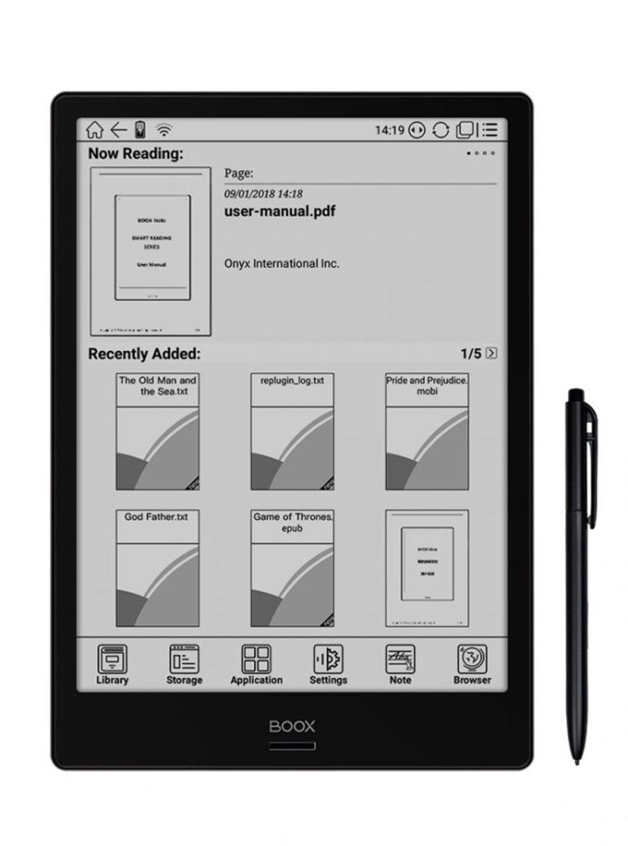 BOOX Note 電子閱讀器(支持PDF,安卓系統)