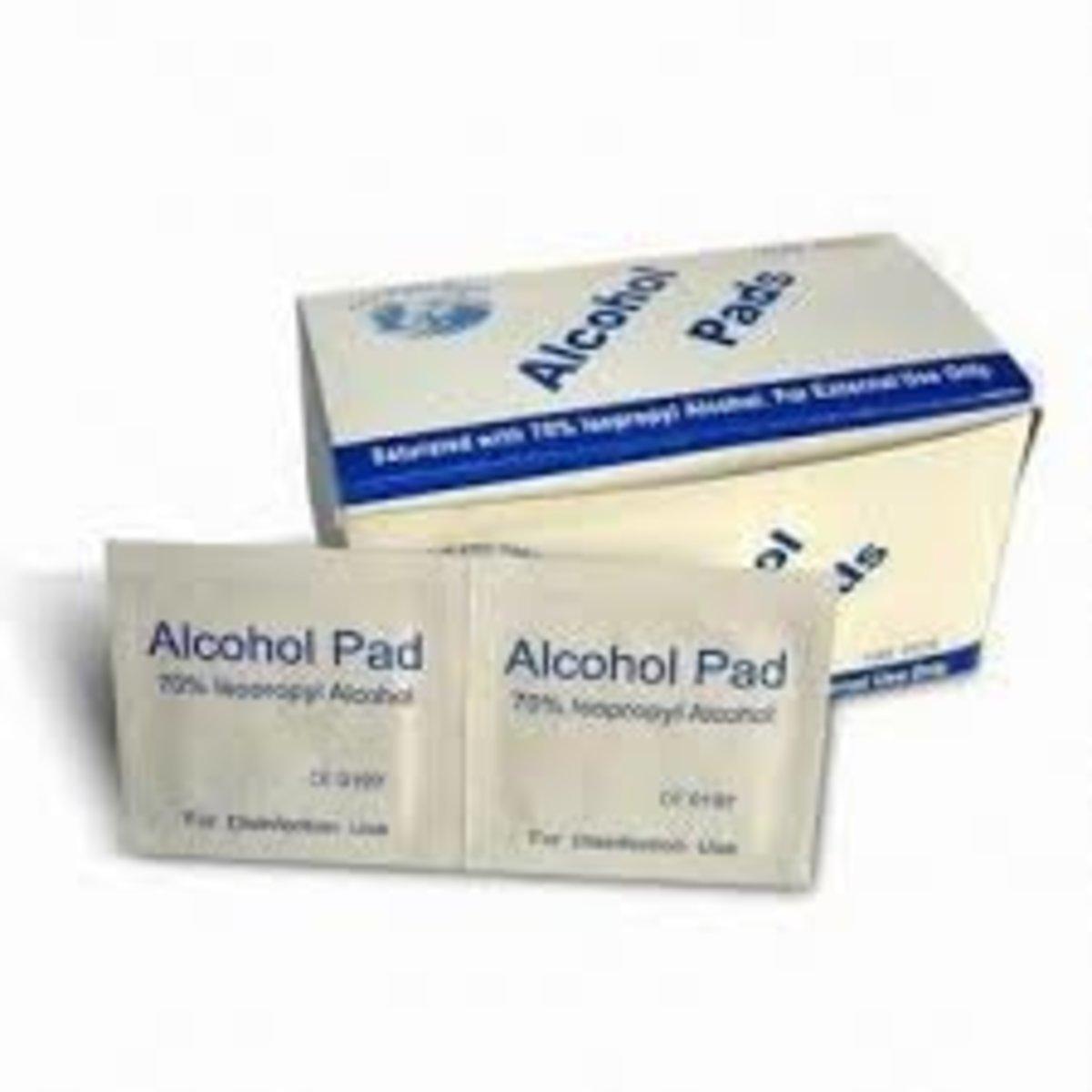 Durasafe  酒精快速消毒濕紙巾 100片 (獨立包裝)2盒